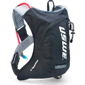 USWE Vertical 4 Plus Drinkrugzak, carbon/black